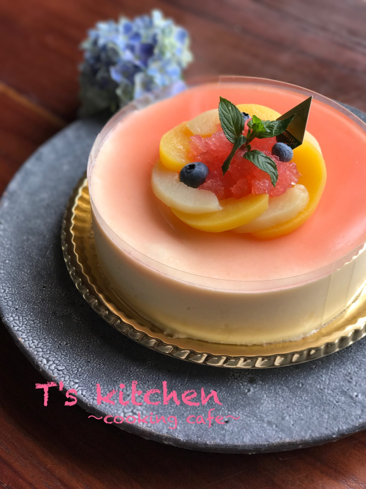 CAKE 桃のムース