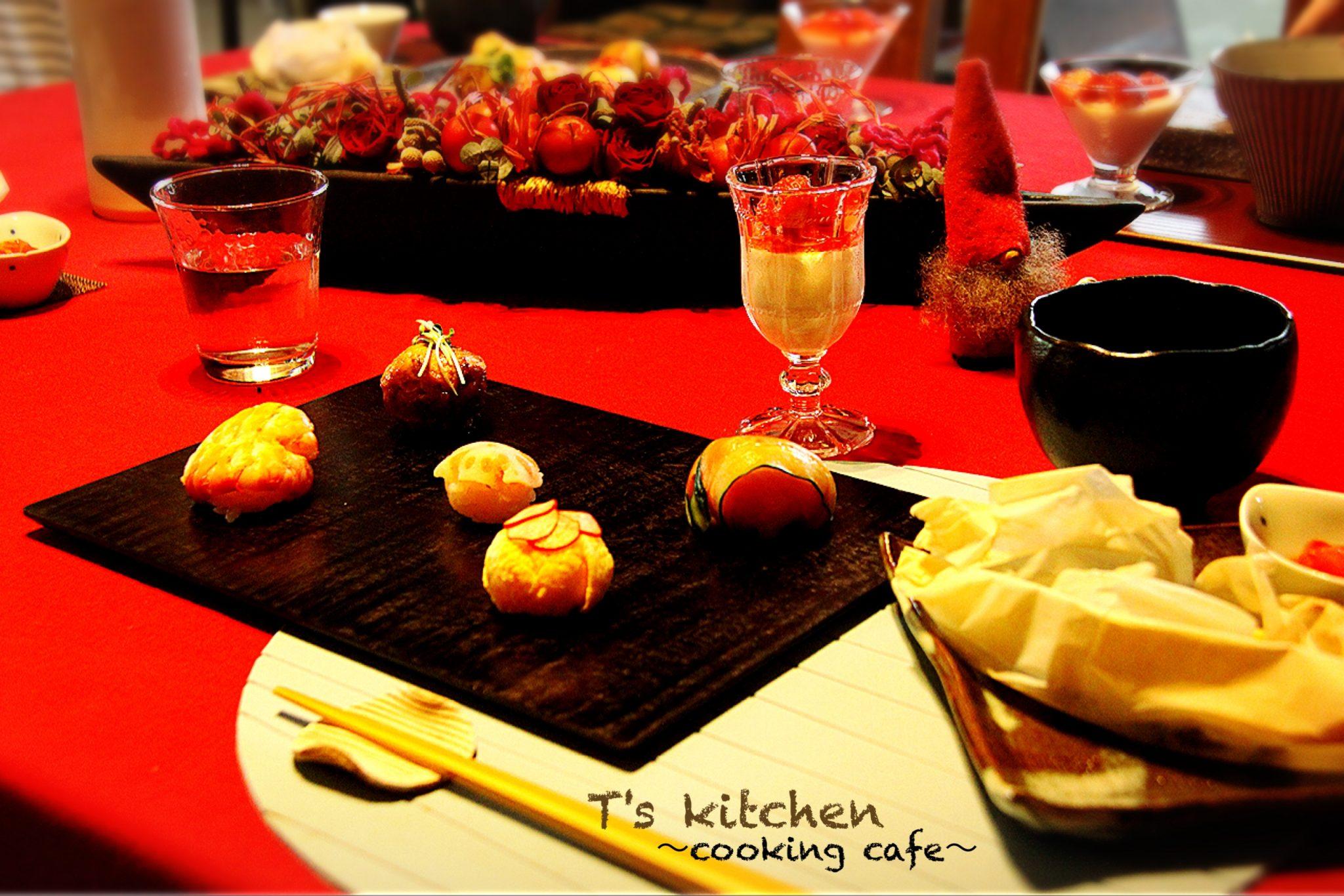 手鞠寿司5種