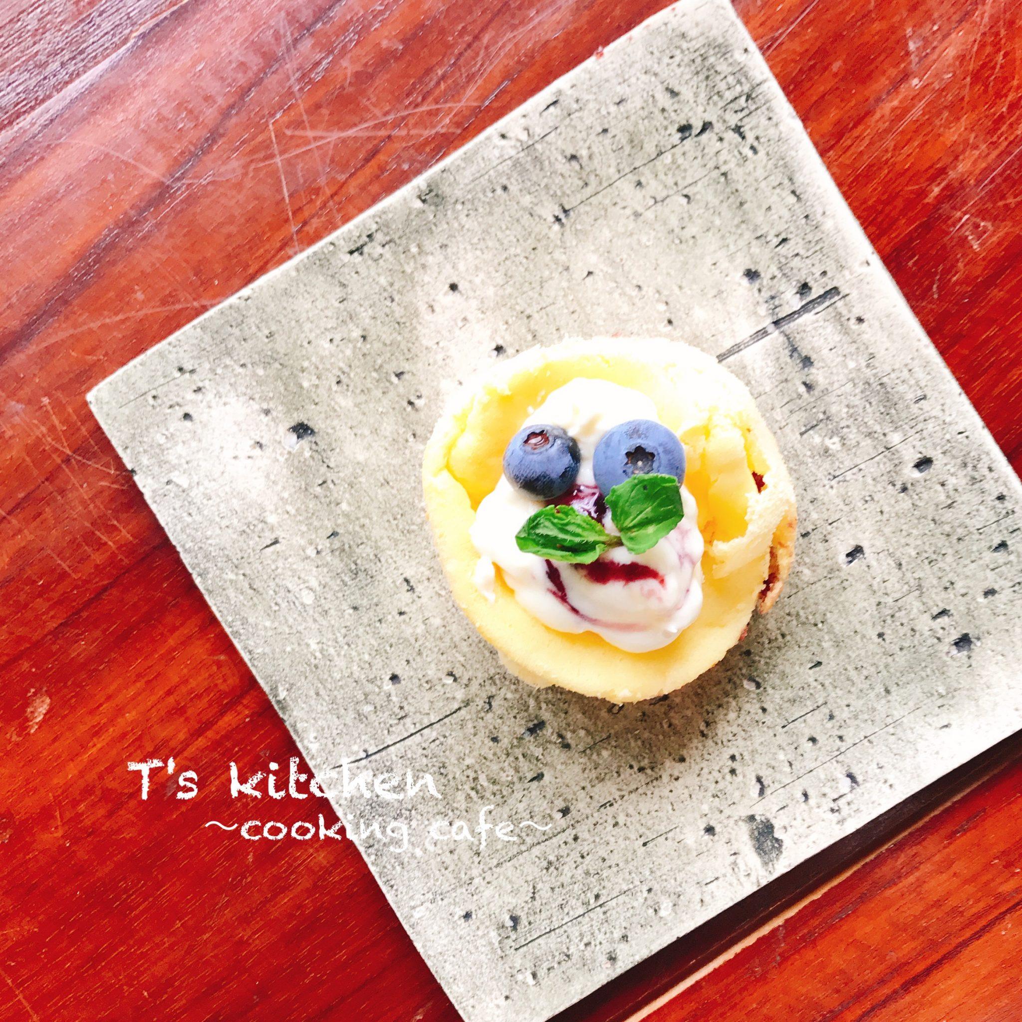 CAKE ブルーベリーチーズスフレケーキ