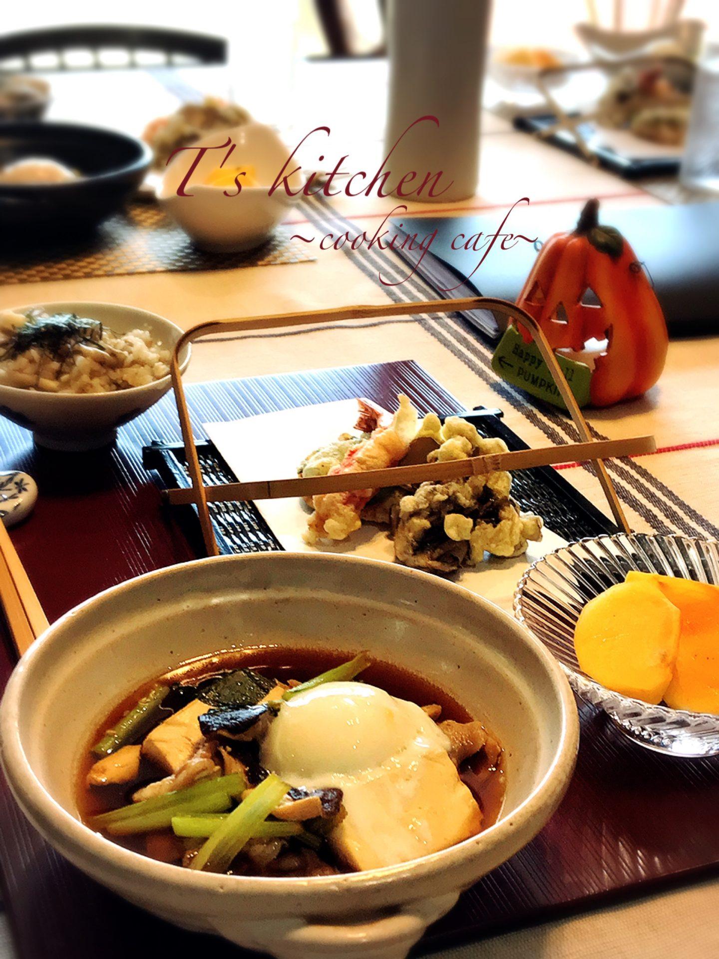 天ぷら・簡単肉豆腐