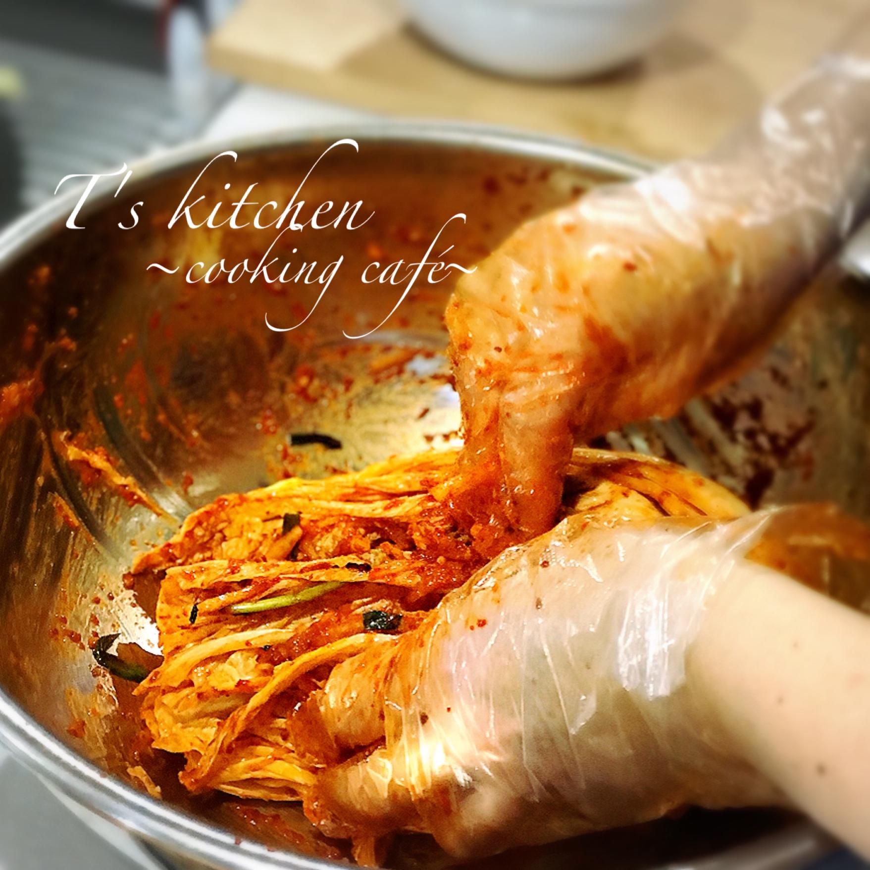手作りキムチ
